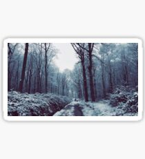 Woodland Snow Sticker