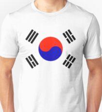 South Korea - Flag Logo (Korean) T-Shirt