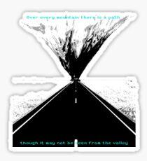 wanderlust - fernweh Sticker