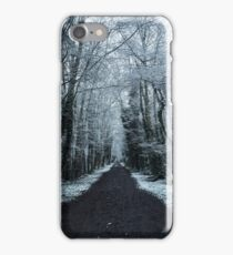 Woodland Snow Scene iPhone Case/Skin