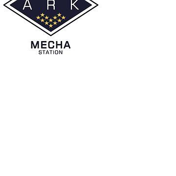 The Ark - Mecha Station by laurauroraa