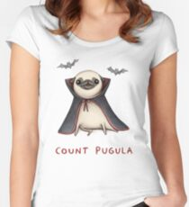 Count Pugula Women's Fitted Scoop T-Shirt