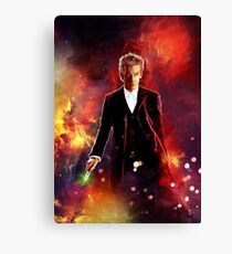 The 12th Doctor Canvas Print