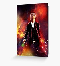The 12th Doctor Greeting Card