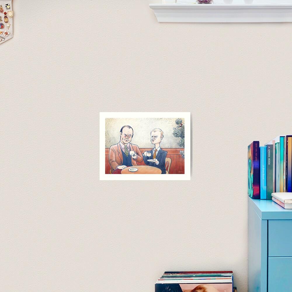 Crane Brothers: This Coffee... Art Print