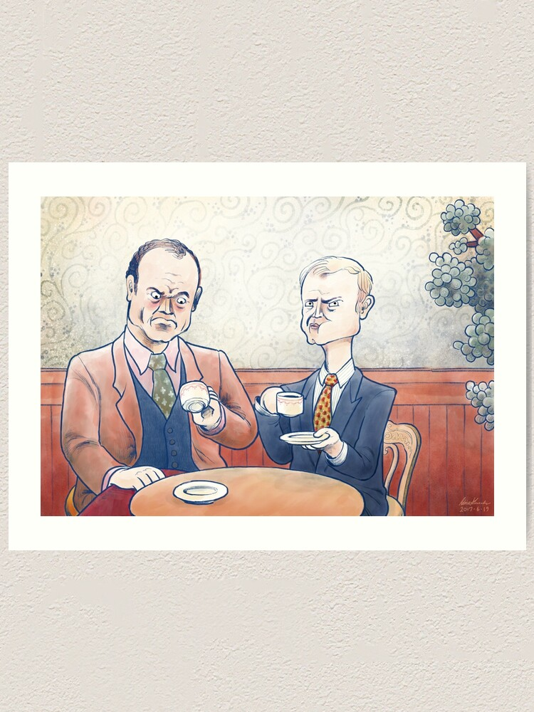 Alternate view of Crane Brothers: This Coffee... Art Print