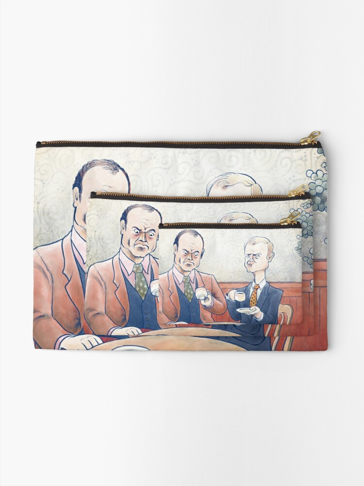 Alternate view of Crane Brothers: This Coffee... Zipper Pouch