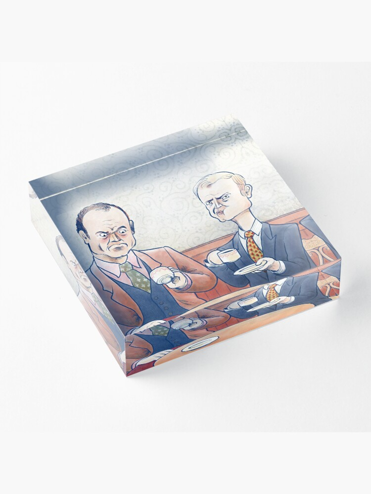 Alternate view of Crane Brothers: This Coffee... Acrylic Block