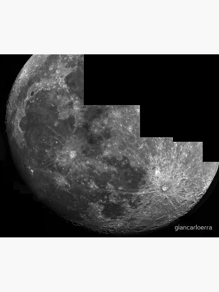 Moon mosaic by giancarloerra