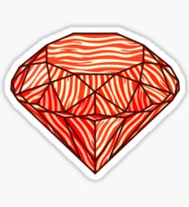 Bacon diamond Sticker
