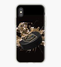 Las Vegas Golden Knights puck iPhone Case