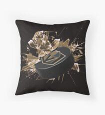 Las Vegas Golden Knights puck Throw Pillow