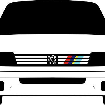 Peugeot 205 Rallye by LPDA69