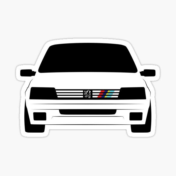 Peugeot 205 Rallye Pegatina