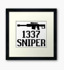 1337 Sniper (Elite) Framed Print