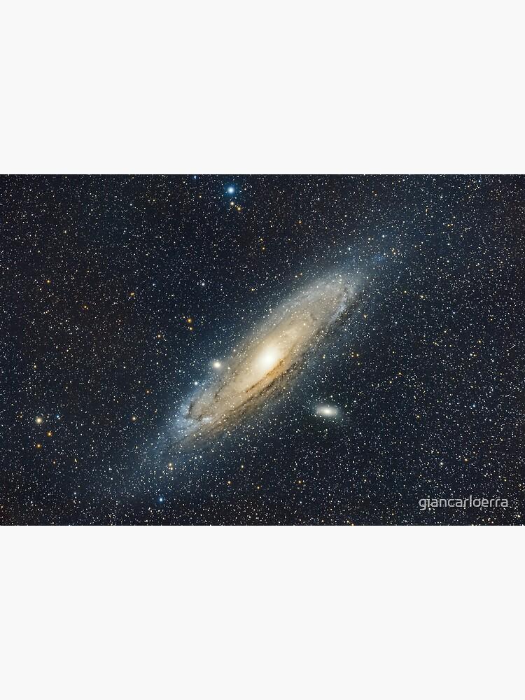 Andromeda Galaxy widefield by giancarloerra