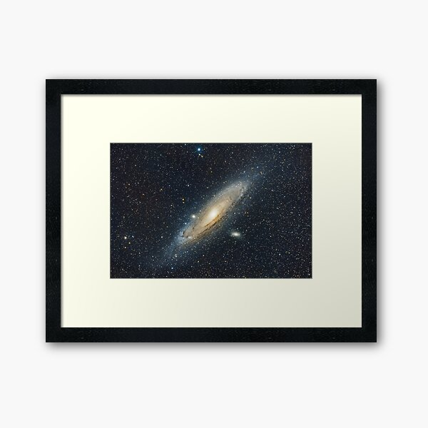 Andromeda Galaxy widefield Framed Art Print