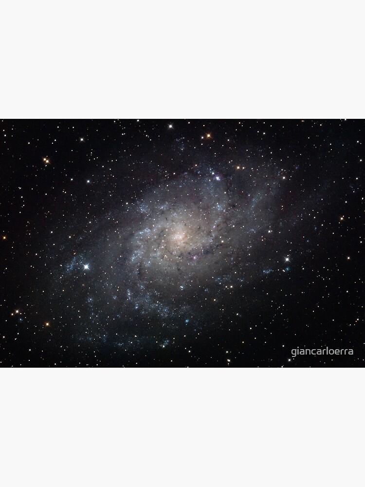 Triangulum Galaxy by giancarloerra