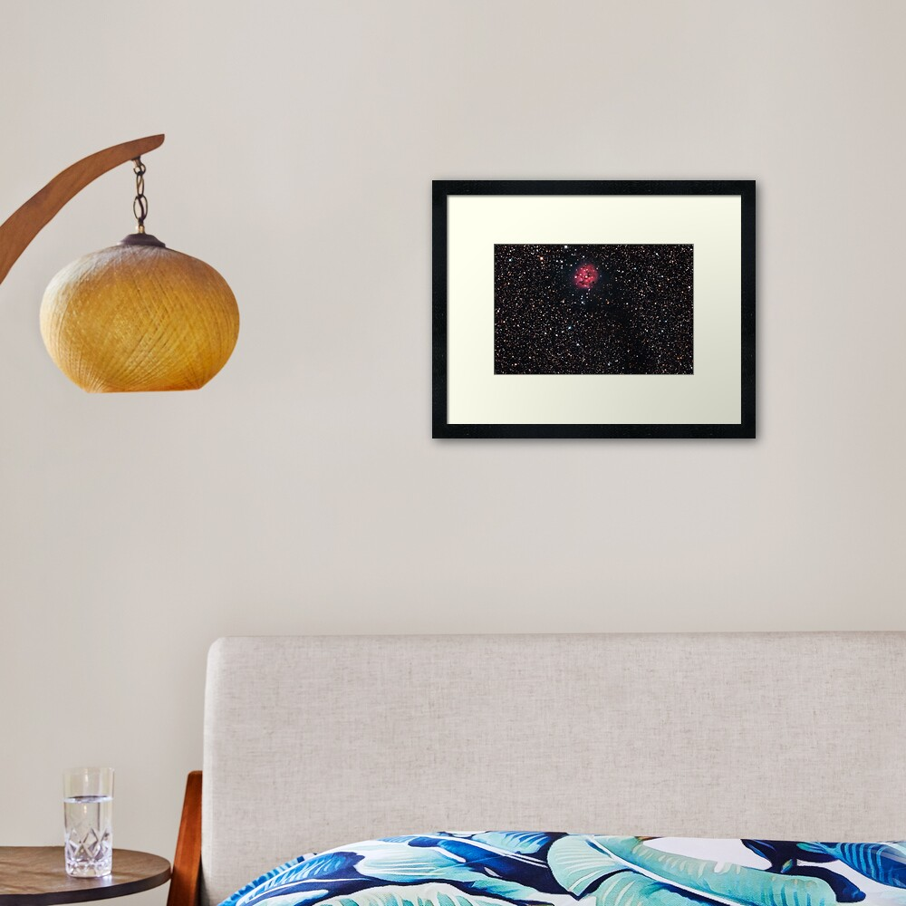 Cocoon Nebula Framed Art Print