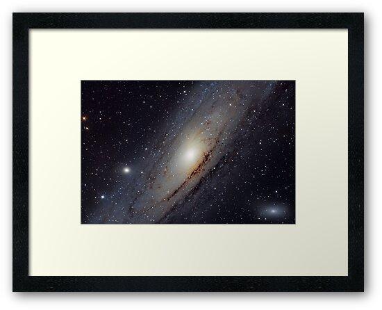 M31 Andromeda Galaxy Core by giancarloerra