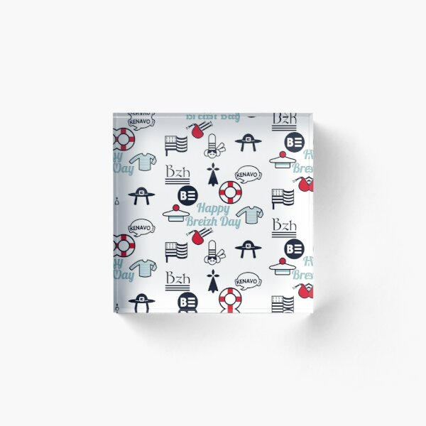 HAPPY BREIZH DAY - the collector -  Bloc acrylique