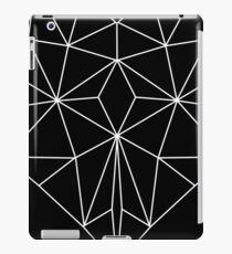 Herz geometrisch Origami iPad Case/Skin
