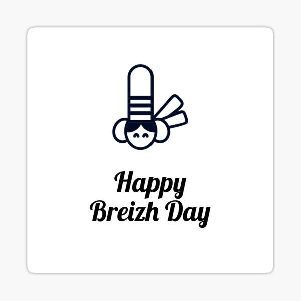 HAPPY BREIZH DAY - N°6 Sticker