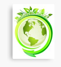 Earth Nature Ecology Canvas Print