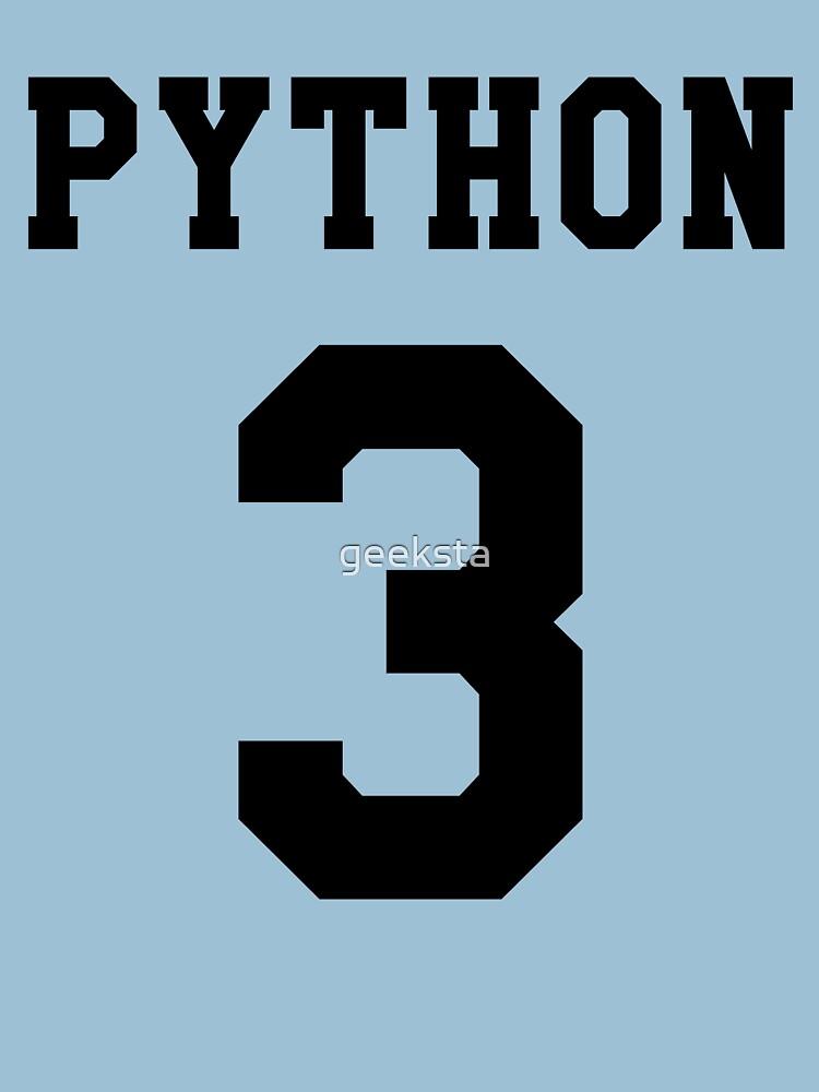 Python 3 - Black College Style Design for Python Programmers by geeksta