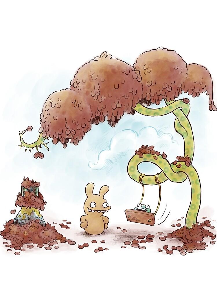 Tobias and Jube: Tree Swing by zpxlng