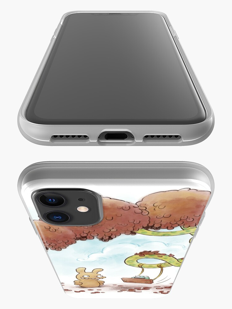 Alternate view of Tobias and Jube: Tree Swing iPhone Case & Cover