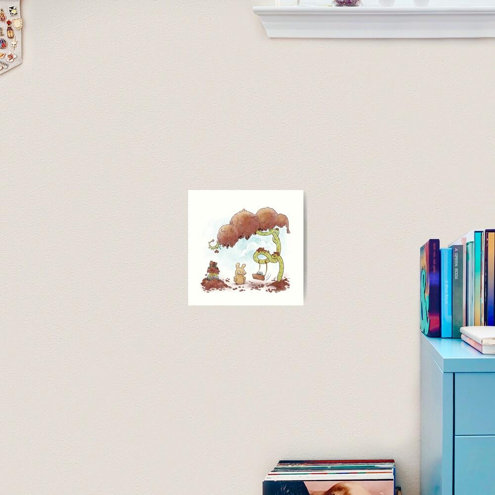 Tobias and Jube: Tree Swing Art Print