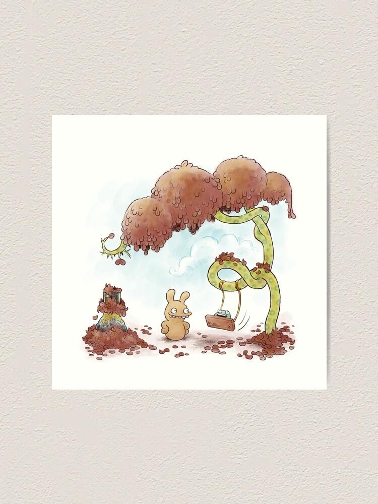 Alternate view of Tobias and Jube: Tree Swing Art Print