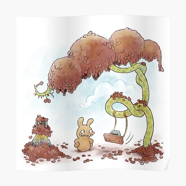 Tobias and Jube: Tree Swing Poster