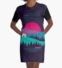 Back to Basics Graphic T-Shirt Dress