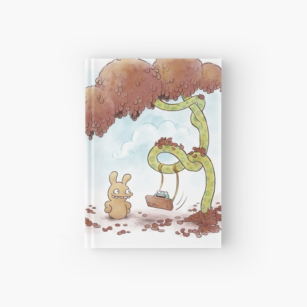Tobias and Jube: Tree Swing Hardcover Journal