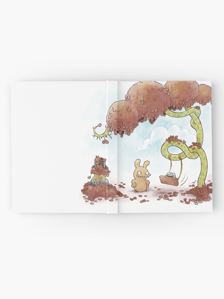 Alternate view of Tobias and Jube: Tree Swing Hardcover Journal