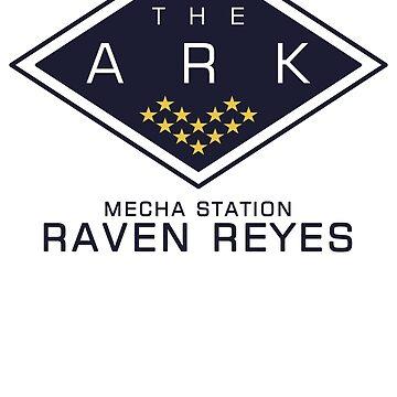 The 100 - Raven Reyes by laurauroraa