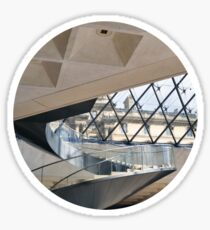 Louvre Winding Staircase Sticker