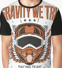 Downhill Gravity Freeride MTB Bike (Racing Edition) Graphic T-Shirt