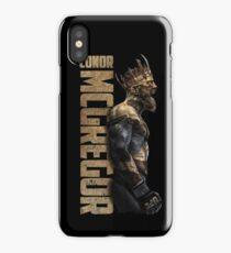 KING MCGREGOR iPhone Case/Skin