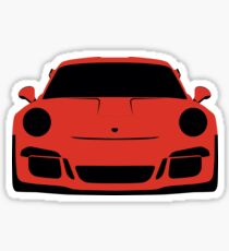 Porsche GT3 RS - Lava/Grey Sticker