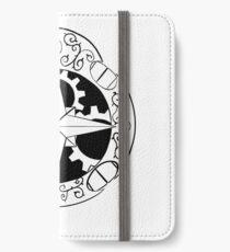 Steampunk compass iPhone Wallet/Case/Skin