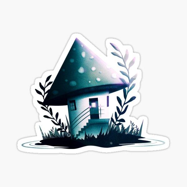 Magic Mush Room - Pattern Sticker