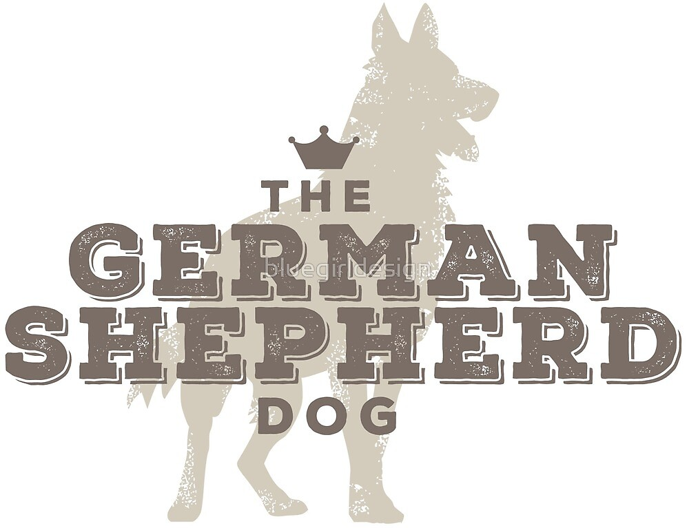 The German Shepherd by bluegirldesign