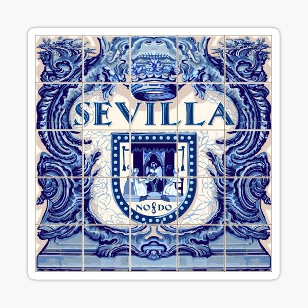 Spain Seville Azulejo Azulejos Tiles Sticker