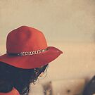 lady in red by Jessica Sharmin