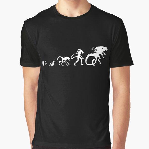 Alien Evolution Graphic T-Shirt