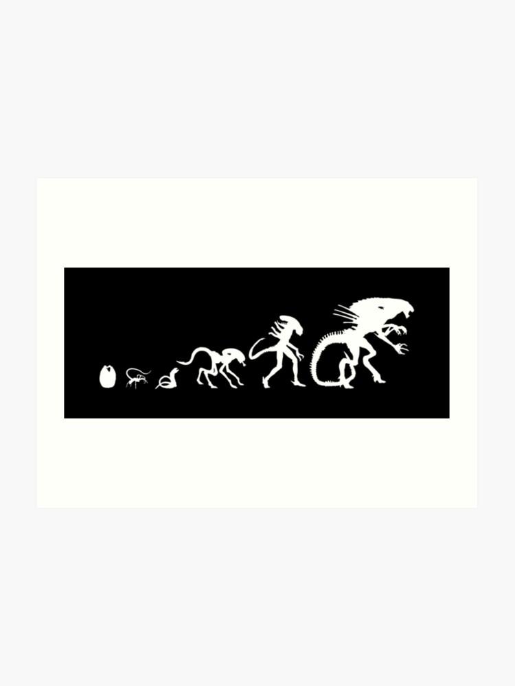 Alien Evolution | Art Print