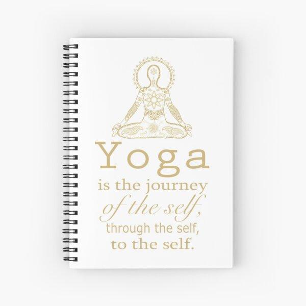 YOGA Spiral Notebook